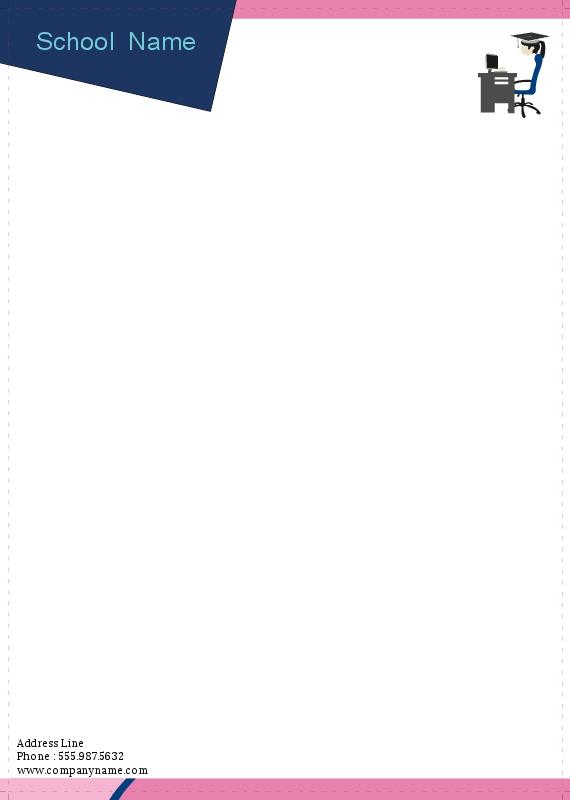 Professional business letterhead printing houston tx free shipping school letterhead 4 spiritdancerdesigns Choice Image