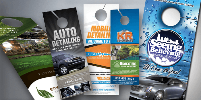 Door Hangers custom door hanger printing | houston tx - free shipping