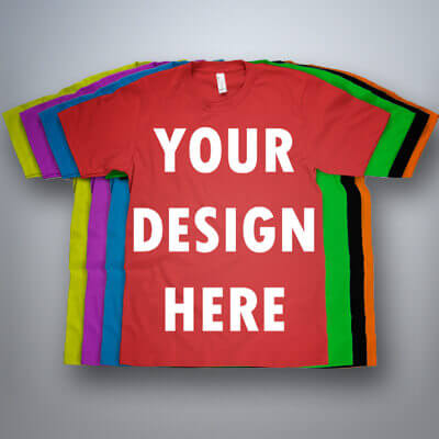 Custom T-Shirts (No minimum)