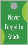 Knock Please