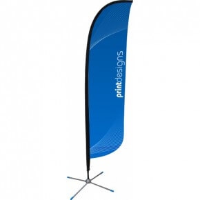Advertising Business Flags with Poles - Free Shipping