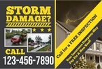 STORM DAMAGE ROOFING AD