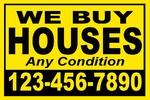 We buy houses yellow