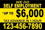 TAX ADVANCE 1 color YELLOW