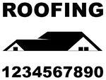 Roofing Sign 1 color