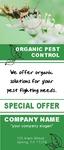 Pest Control Door Hanger Full Color