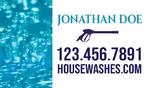 House Washing Business Card