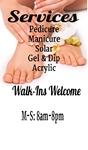 Nail Spa Manicure Pedicure