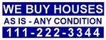 We Buy 1 color 9x24