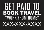 Get paid to book travel