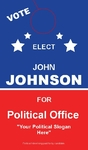Political door hanger 4x7