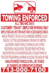 Towing Enforced