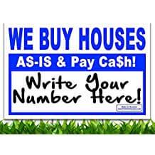 We Buy Houses Signs