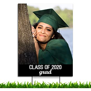 Custom Full Color Graduation Yard Sign, 18in x 24in