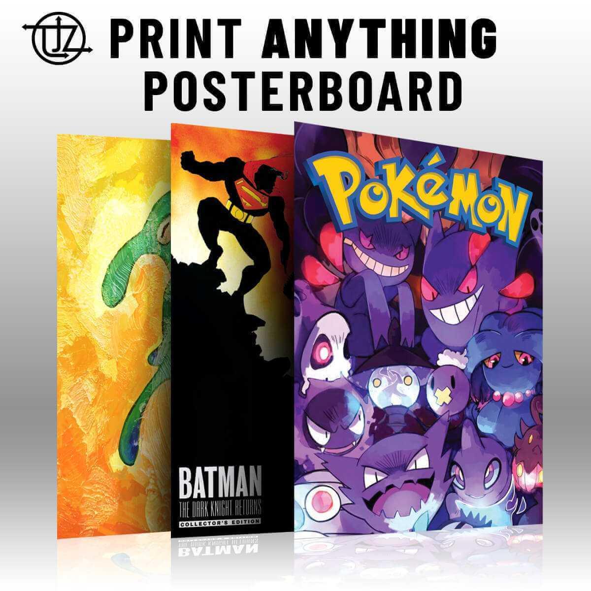 Custom Posters on coroplast plastic