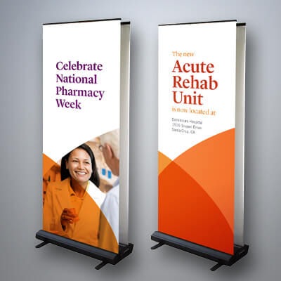 Large Banners with Stand