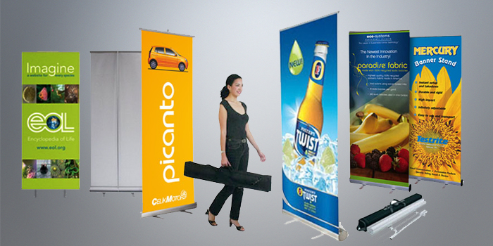 Banner with Stand