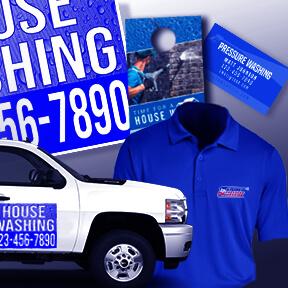 Pressure Washing Print Marketing Starter Kit