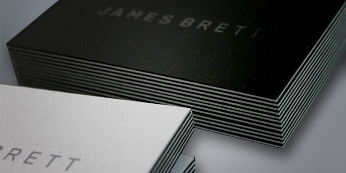 Suede Business Cards Custom Prints